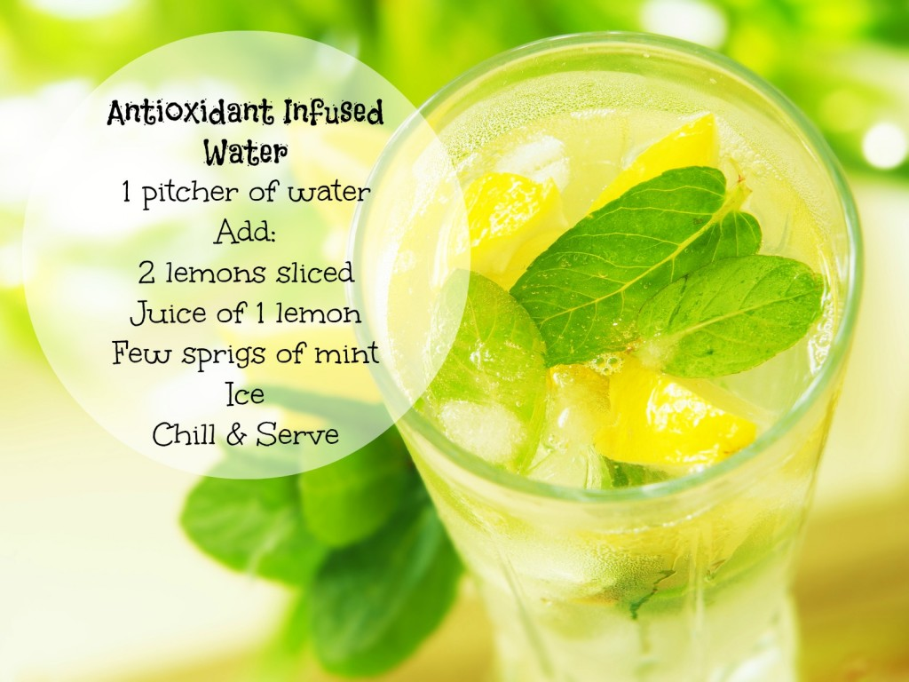 antioxidant infused water